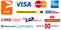 iK4USHOP Available Payment Gateway