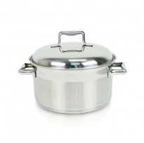 HETCH S/S Practical System 24cm Casserole