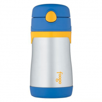Thermos - Blue Foogo Vacuum Insulated Straw Bottle 350ml