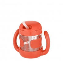 Oxo Tot - Straw Cup Removable Handle 7oz *Orange*