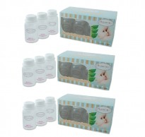 Autumnz - B/milk Storage Bottles (10 btls) - White Clear *3 boxes*