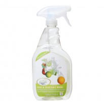 Friendly Organic - Fruit and Vegetable Wash ( 650 ml / 22oz )