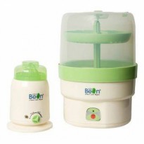 Little Bean - Sterilizer Combo Set c/w 2pcs LB Feeding Bottle