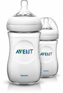 Avent - Natural Bottle 11oz / 330ml (Twin Pack)