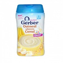Gerber - Oatmeal and Banana Cereal 227g - BEST BUY