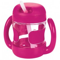 Oxo Tot - Straw Cup Removable Handle 7oz *Pink*