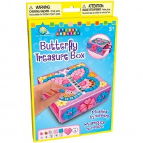 The Orb Factory Sticky Mosaics Butterfly Treasure Box