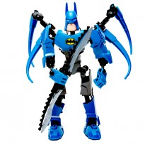 3D Super Heroes Bat Man Building Blocks Assembly Toy