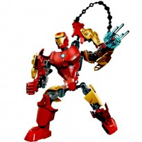 3D Super Heroes Iron Man Building Blocks Assembly Toy