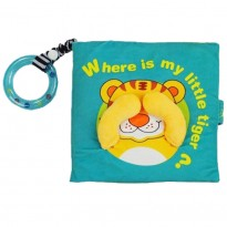 Cloth Book - Where Is My Little Tiger -BT02
