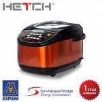 HETCH 8 in 1 Multifunction Rice Cooker MTC-1721-HC - 5L Non-stick Inner Pot
