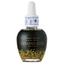Natural & Organic Skincare with Halal Certified Black Paint German Blue Gold