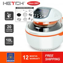 HETCH Digital Turbo Air Fryer DAF-1720-HC
