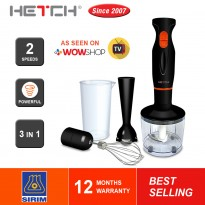 HETCH Hand Blender Multifunction Set Food Processor HBD-1607-HC