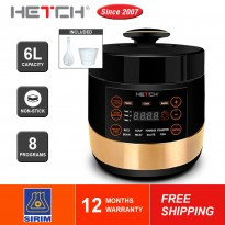 HETCH Smart Pressure Cooker 6L PSC-1608-HC